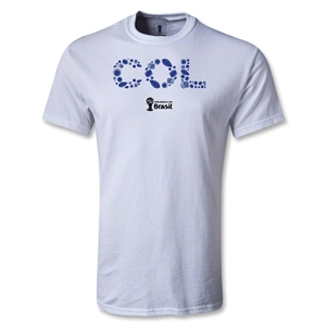 Colombia 2014 FIFA World Cup Brazil(TM) Youth Elements T-Shirt (White)