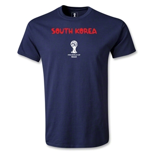 South Korea 2014 FIFA World Cup Brazil(TM) Youth Core T-Shirt (Navy)