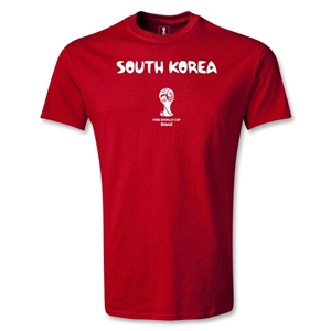South Korea 2014 FIFA World Cup Brazil(TM) Youth Core T-Shirt (Red)