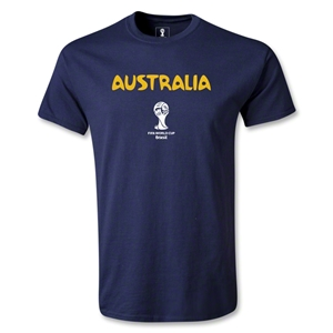 Australia 2014 FIFA World Cup Brazil(TM) Youth Core T-Shirt (Navy)