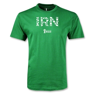 Iran 2014 FIFA World Cup Brazil(TM) Youth Elements T-Shirt (Green)