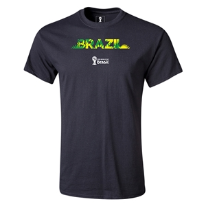 Brazil 2014 FIFA World Cup Brazil(TM) Youth T-Shirt (Black)
