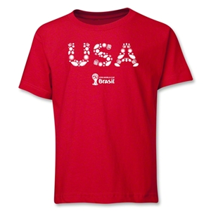 USA 2014 FIFA World Cup Brazil(TM) Youth Elements T-Shirt (Red)