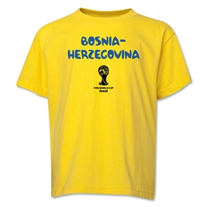 Bosnia-Herzegovina 2014 FIFA World Cup Brazil(TM) Youth Core T-Shirt (Yellow)