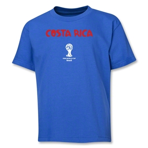 Costa Rica 2014 FIFA World Cup Brazil(TM) Youth Core T-Shirt (Royal)