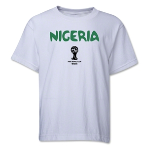 Nigeria 2014 FIFA World Cup Brazil(TM) Youth Core T-Shirt (White)