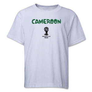 Cameroon 2014 FIFA World Cup Brazil(TM) Youth Core T-Shirt (White)