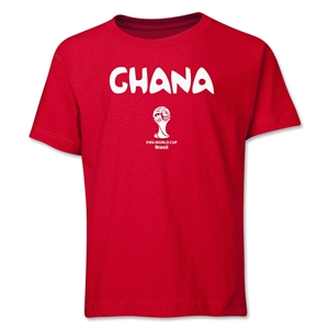 Ghana 2014 FIFA World Cup Brazil(TM) Youth Core T-Shirt (Red)