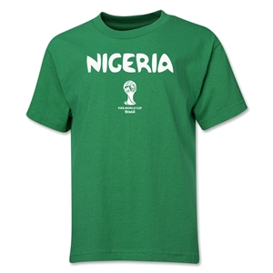 Nigeria 2014 FIFA World Cup Brazil(TM) Youth Core T-Shirt (Green)
