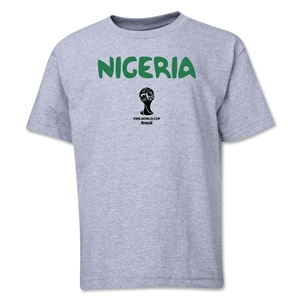 Nigeria 2014 FIFA World Cup Brazil(TM) Youth Core T-Shirt (Grey)