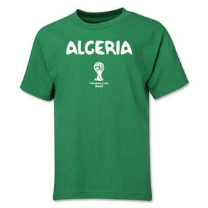 Algeria 2014 FIFA World Cup Brazil(TM) Youth Core T-Shirt (Green)