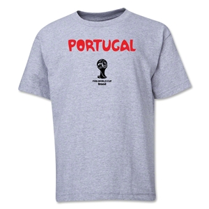 Portugal 2014 FIFA World Cup Brazil(TM) Youth Core T-Shirt (Grey)