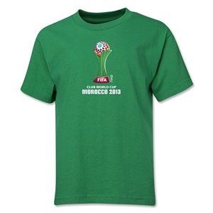 FIFA Club World Cup Morocco 2013 Youth Official Emblem T-Shirt (Green)