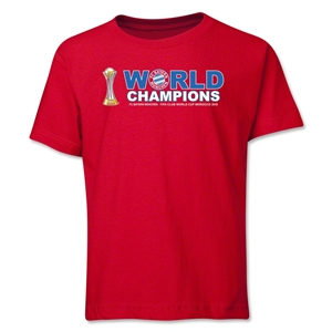 Bayern Munich FIFA Club World Cup 2013 Champions Youth T-Shirt