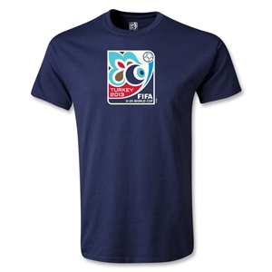 FIFA U-20 World Cup Turkey 2013 Youth Emblem T-Shirt (Navy)
