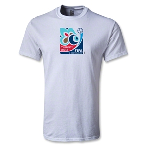 FIFA U-20 World Cup Tukey 2013 Youth Emblem T-Shirt (White)