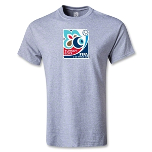 FIFA U-20 World Cup Turkey 2013 Youth Emblem T-Shirt (Gray)