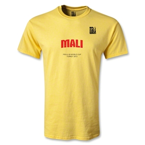 FIFA U-20 World Cup Turkey Youth Mali T-Shirt (Yellow)