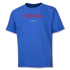 Croatia 2013 FIFA U-17 World Cup UAE Youth T-Shirt (Royal)