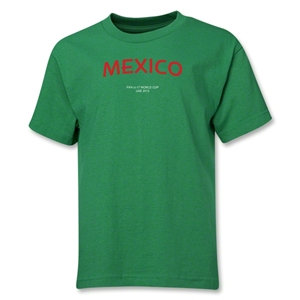 Mexico 2013 FIFA U-17 World Cup UAE Youth T-Shirt (Green)