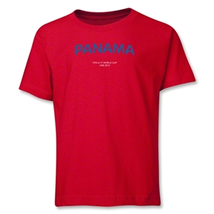 Panama 2013 FIFA U-17 World Cup UAE Youth T-Shirt (Red)
