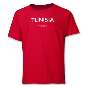 Tunisia 2013 FIFA U-17 World Cup UAE Youth T-Shirt (Red)