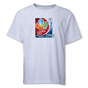 FIFA Women's World Cup Canada 2015(TM).Core Youth T-Shirt (White)