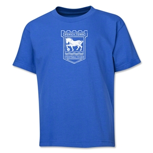 Ipswich Town Distressed Youth T-Shirt (Royal)