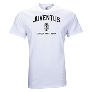 Juventus Youth Distressed T-Shirt (White)