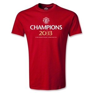 Manchester United 2013 Champions Youth T-Shirt (Red)