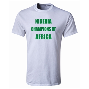 Nigeria 2013 Champions of Africa Youth T-Shirt (White)
