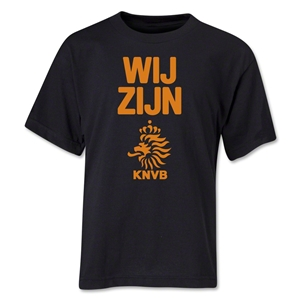 Netherlands We Are Youth T-Shirt (Black)