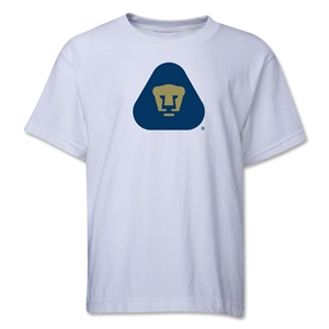 Pumas UNAM Youth T-Shirt (White)