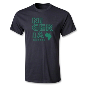 Nigeria Youth Country T-Shirt (Black)