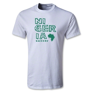 Nigeria Youth Country T-Shirt (White)