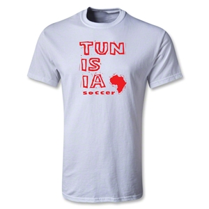 Tunisia Youth Country T-Shirt (White)