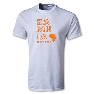 Zambia Youth Country T-Shirt (White)