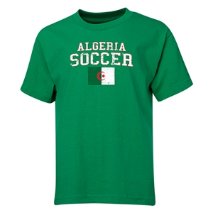 Algeria Youth Soccer T-Shirt (Green)
