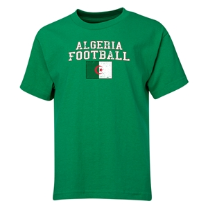 Algeria Youth Football T-Shirt (Green)