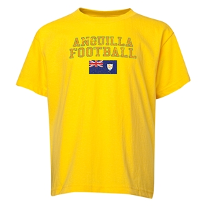 Anguilla Youth Football T-Shirt (Yellow)