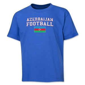 Azerbaijan Youth Football T-Shirt (Royal)