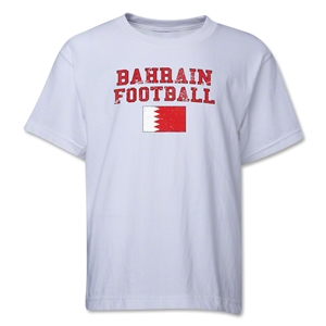 Bahrain Youth Football T-Shirt (White)