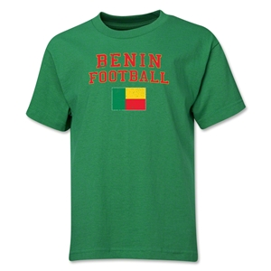 Benin Youth Football T-Shirt (Green)