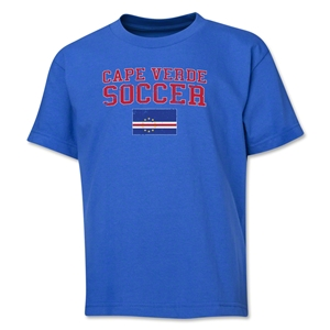 Cape Verde Youth Soccer T-Shirt (Royal)