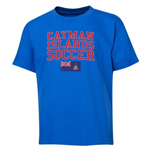 Cayman Islands Youth Soccer T-Shirt (Royal)
