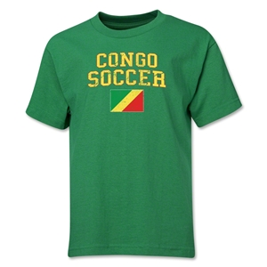 Congo Youth Soccer T-Shirt (Green)