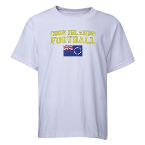 Cook Islands Youth Football T-Shirt (White)