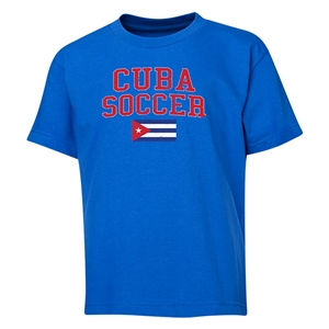 Cuba Youth Soccer T-Shirt (Royal)