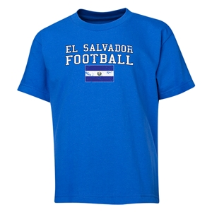 El Salvador Youth Football T-Shirt (Royal)