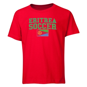 Eritrea Youth Soccer T-Shirt (Red)